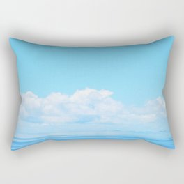 Pacific blues Rectangular Pillow