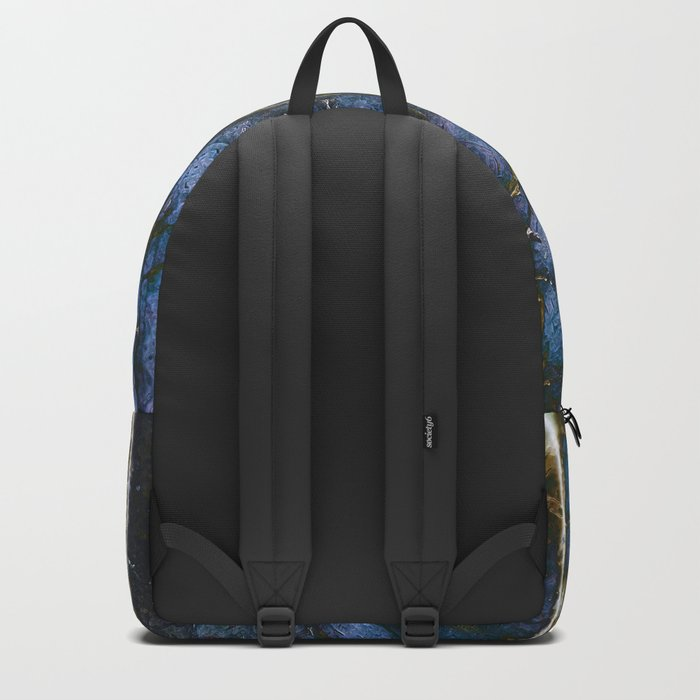 Snowy Forest Night Backpack