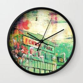 Fenway Greens Wall Clock