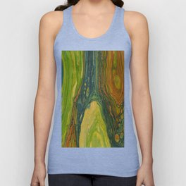 The Excavation of a Luminous Chamber (Enchanted Chemical Abyss) Unisex Tank Top