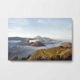 higher than mountain Metal Print
