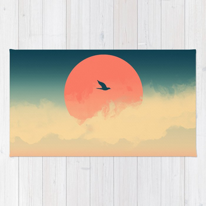 Lonesome Traveler Rug