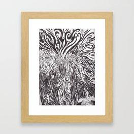 Wink the Owl Framed Art Print