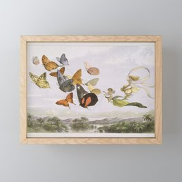 In Fairyland  A Series of Pictures from the Elf-World Framed Mini Art Print