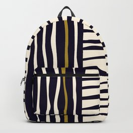 Zebra style animal print pattern Backpack
