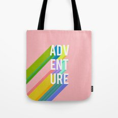 Adventure in Pink Tote Bag