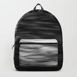 B&W Waves2 Backpack