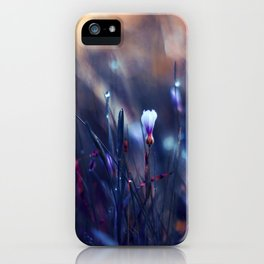 Lonely in Beauty iPhone Case