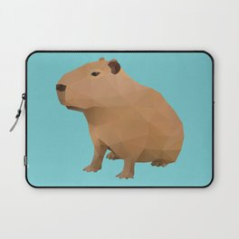 Capybara Polygon Art Laptop Sleeve