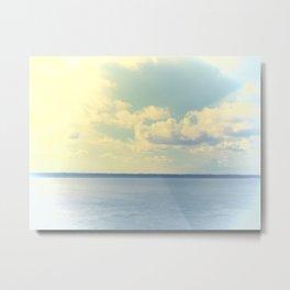 Clear Blue Sky Metal Print