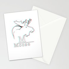 Moose 2 3D Stationery Cards