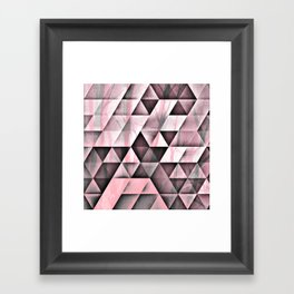 Pink's In Framed Art Print