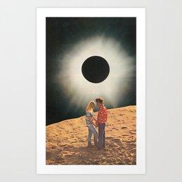 Shadow Lovers Art Print