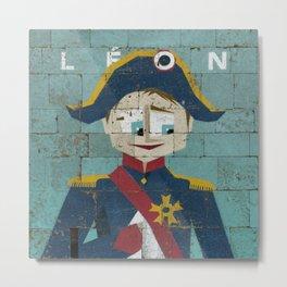 Léon Metal Print