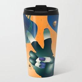 PNLP Blues Metal Travel Mug
