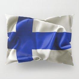 Finland Flag Pillow Sham