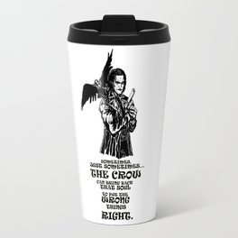 The Crow: Eric Draven Travel Mug