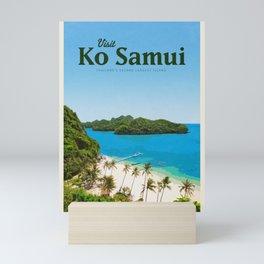 Visit Ko Samui Mini Art Print
