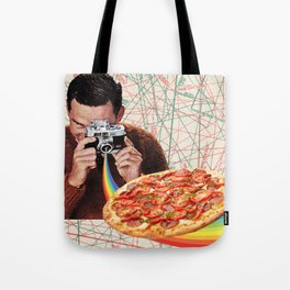 pizza obsession Tote Bag