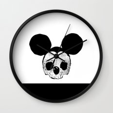 Dead Mickey Mouse Wall Clock