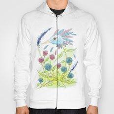 Flower-bird Hoody