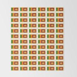 flag of sri lanka- ශ්රී ලංකා,இலங்கை, ceylon,Sri Lankan,Sinhalese,Sinhala,Colombo. Throw Blanket
