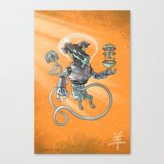 Astro Zodiac Force 08: Ram Canvas Print