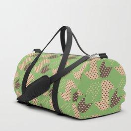 Clover&Nessie Pistachio/Mocha Duffle Bag