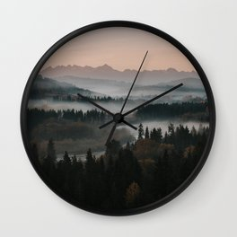 Good Morning! - Landscape and Nature Photography Wall Clock