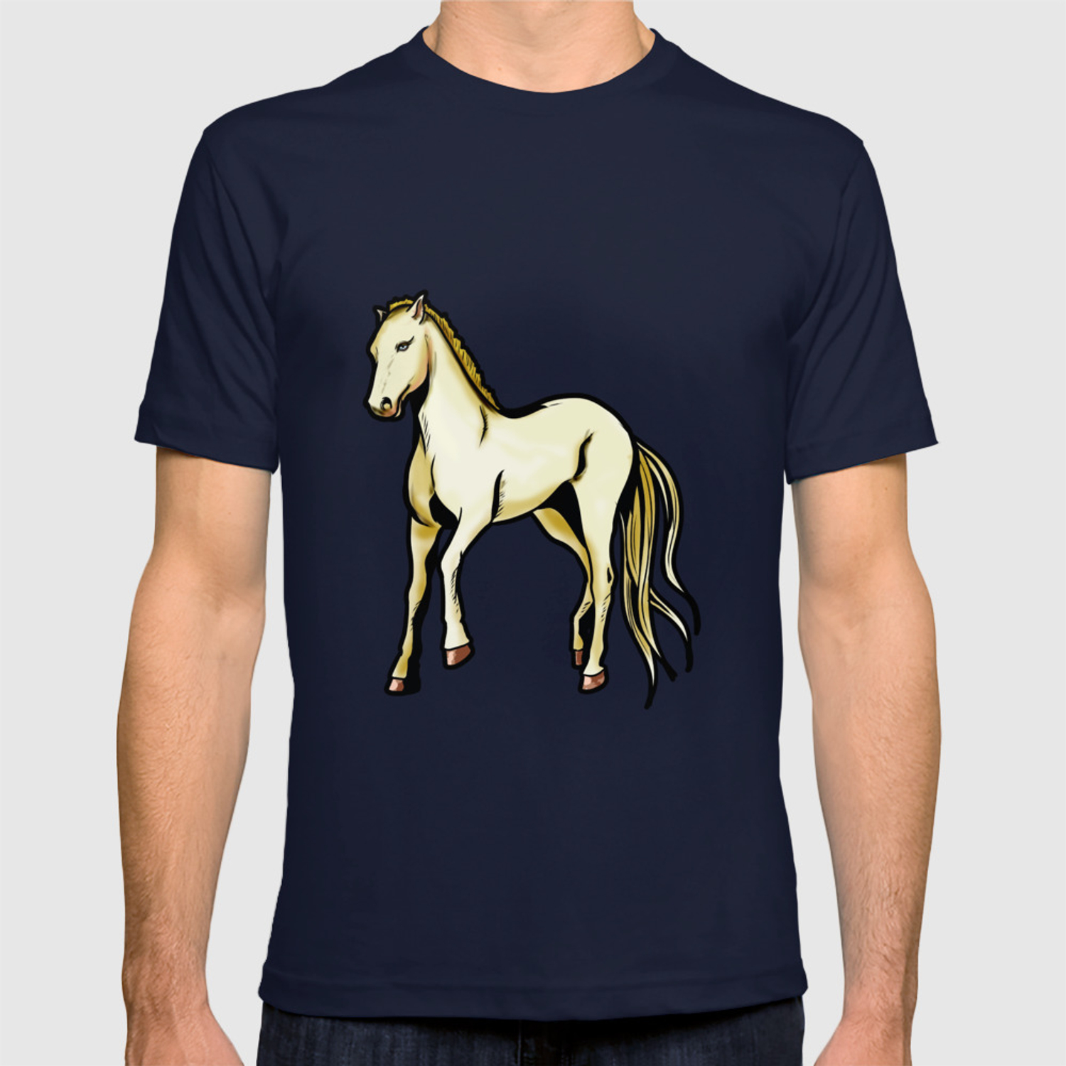 Download Horse Riding Cartoon Drawing Images