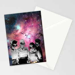 Space cooks Stationery Cards