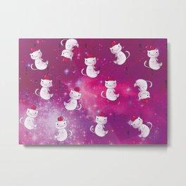 Deep Space Jelly Bean Metal Print