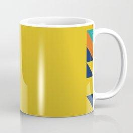 Geometric Square Border Pattern Coffee Mug