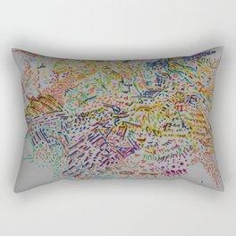 Fragment Reunion Rectangular Pillow