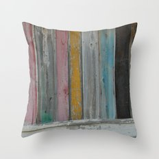 A Southern Shack Throw Pillow
