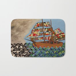 The Ship Brings The Light Bath Mat