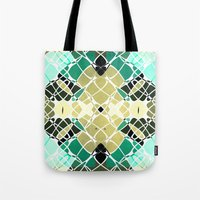 snake Tote Bags featuring Snake by SensualPatterns