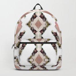 Fruit Diamonds Photographic Pattern #1 Backpack