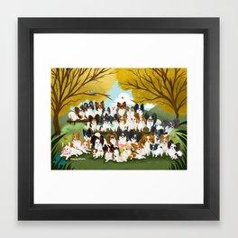 33 Paps Framed Art Print