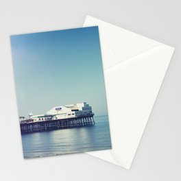 Summer pier Stationery Cards