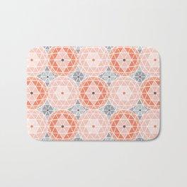 Geodome - Pink Bath Mat