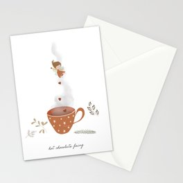 Hot Chocolate Fairy Stationery Cards