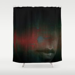 Vibrations of the Heart  Shower Curtain