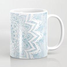 LIGHT BLUE MANDALA SAVANAH Coffee Mug