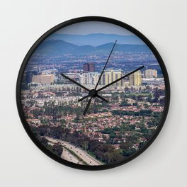 San Diego Lookout Wall Clock