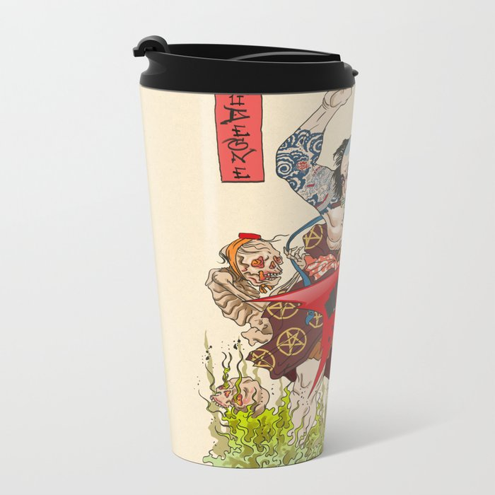 Metaruu! Metal Travel Mug