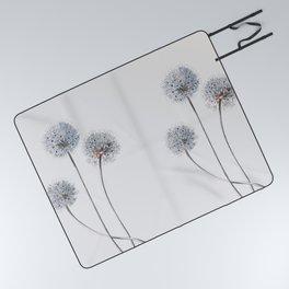 Dandelion 2 Picnic Blanket