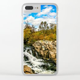 Great Falls #4 Clear iPhone Case