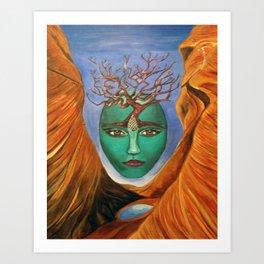 Terramatris Art Print