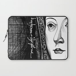 Queen Katherine of Aragon Portrait  Laptop Sleeve